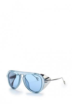 Очки солнцезащитные Gucci. Цвет: голубой