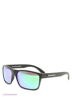 Солнцезащитные очки Franco Sordelli. Цвет: черный, зеленый, синий