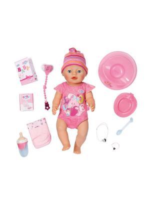 Игрушка BABY born Кукла Интерактивная, 43 см, кор. ZAPF. Цвет: розовый