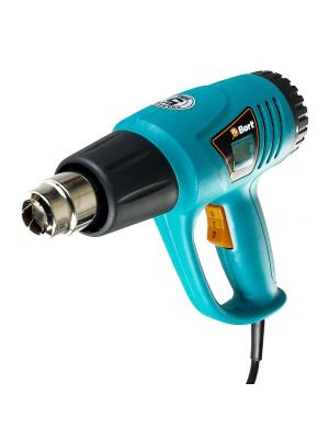 Фен технический BORT BHG-2000L-K. Цвет: синий