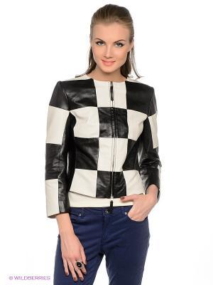 Куртка APART. Цвет: черный, белый