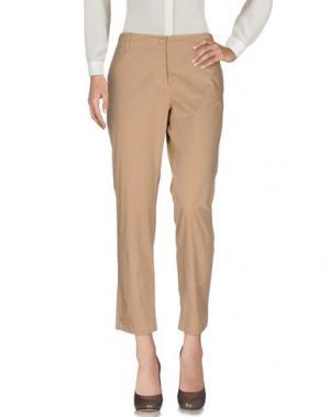Повседневные брюки TASTE. Цвет: бежевый