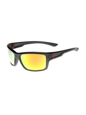 Солнцезащитные очки Gusachi. Цвет: черный, зеленый, желтый