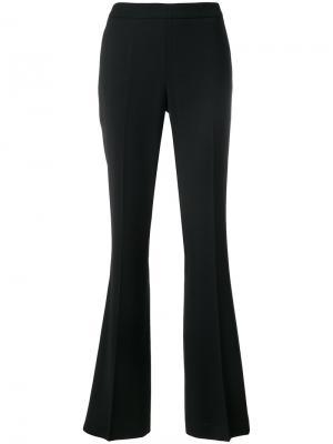 Расклешенные брюки свободного кроя Fabiana Filippi. Цвет: чёрный