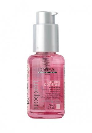 Гель-флюид для блеска LOreal Professional L'Oreal. Цвет: розовый