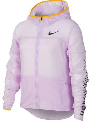 Ветровка G NK JKT HD IMP LT Nike. Цвет: фиолетовый