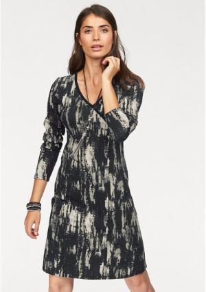 Платье BOYSENS BOYSEN'S. Цвет: черный/бежевый