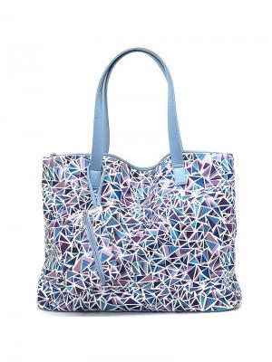 Сумка Solo true bags. Цвет: голубой, фиолетовый