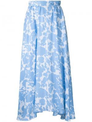Юбка Jardin Macgraw. Цвет: синий