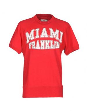 Толстовка FRANKLIN & MARSHALL. Цвет: красный
