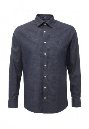 Рубашка Gant. Цвет: синий