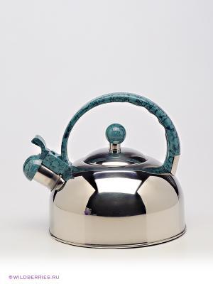 Чайник Bekker. Цвет: серебристый, серо-голубой
