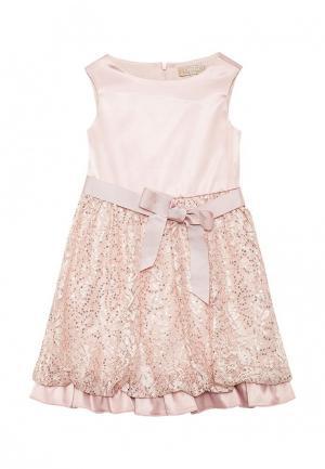 Платье Смена. Цвет: розовый