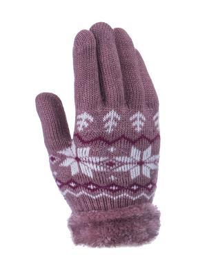 Перчатки детские Cascatto. Цвет: розовый