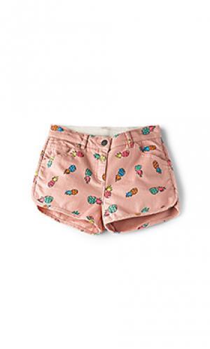 Джинсовые шорты emma girls Stella McCartney. Цвет: розовый