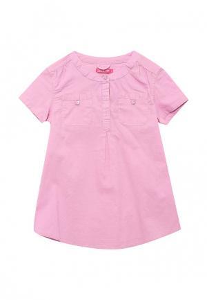 Блуза Sela. Цвет: розовый