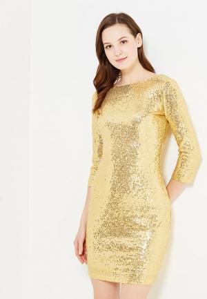 Платье Incity. Цвет: золотой