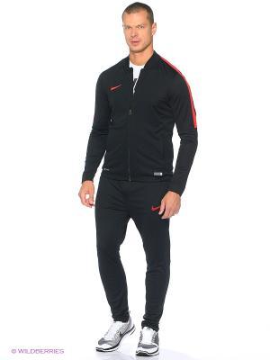 Спортивный костюм ACADEMY KNT TRACKSUIT 2 Nike. Цвет: черный, темно-красный