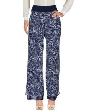 Повседневные брюки CALALUNA. Цвет: темно-синий
