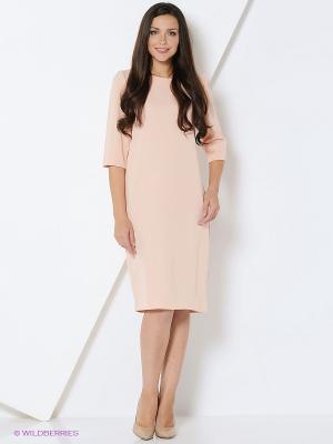 Платье IMAGO. Цвет: персиковый