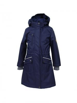 Пальто HUPPA. Цвет: темно-синий