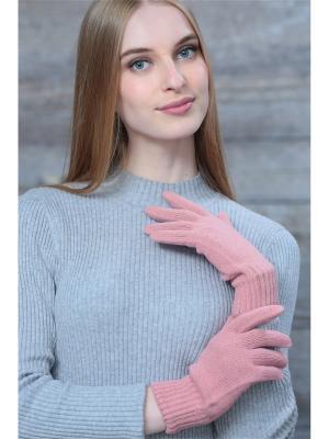 Перчатки Krife. Цвет: розовый
