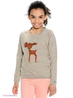 Джемпер American Outfitters. Цвет: серый, золотистый