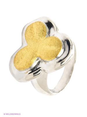 Кольцо BALEX. Цвет: серебристый, золотистый