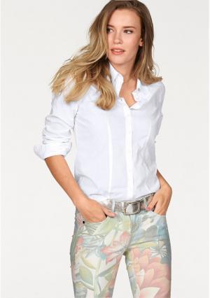 Блузка AJC. Цвет: белый