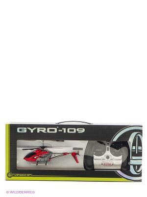 Вертолёт с гироскопом GYRO-109 1Toy. Цвет: прозрачный