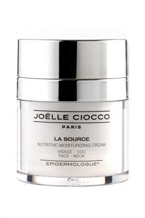 Крем для чувствительной кожи двойного действия: питание и увлажнение лица шеи LA SOURCE, 30 ml Joëlle Ciocco. Цвет: multicolor
