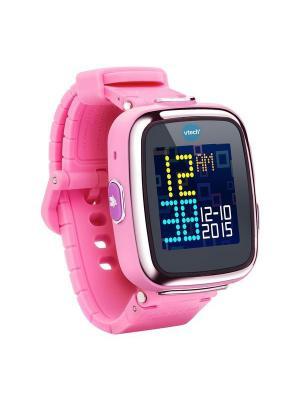 Детские наручные часы Kidizoom SmartWatch DX  розового цвета Vtech. Цвет: розовый