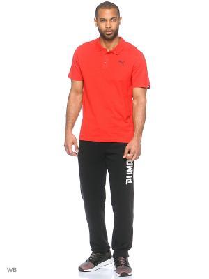 Футболка-поло ESS Jersey Polo Puma. Цвет: красный