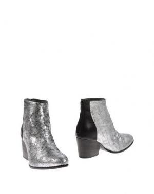 Полусапоги и высокие ботинки FIORIFRANCESI. Цвет: серый