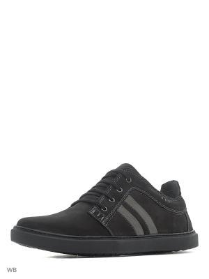 Туфли Goergo. Цвет: черный, серый