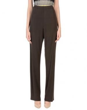 Повседневные брюки DOMINA. Цвет: темно-коричневый