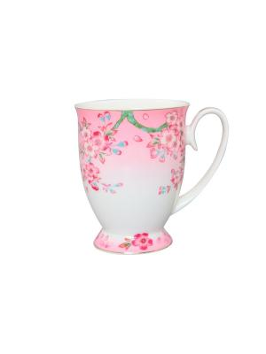 Кружка Сакура Elan Gallery. Цвет: розовый