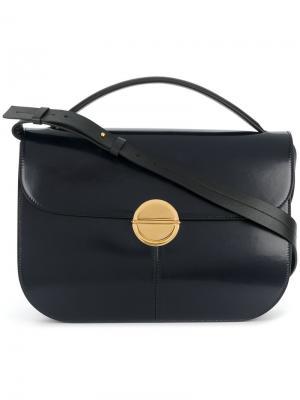 Большая сумка-тоут Tuk Marni. Цвет: синий