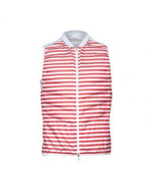 Куртка KIRED. Цвет: красно-коричневый