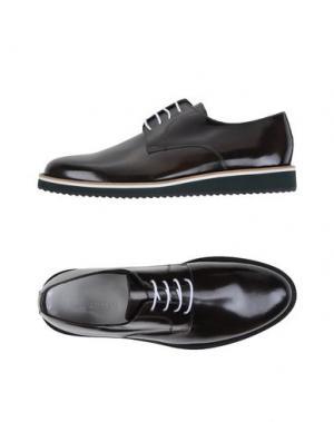 Обувь на шнурках ROBERTO PEPE. Цвет: темно-коричневый