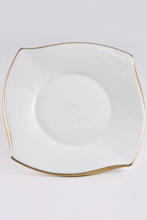 Тарелка 5 штук Narumi. Цвет: белый