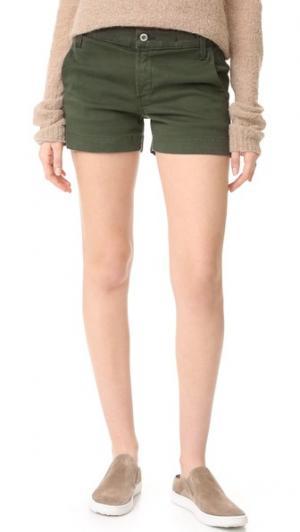 Шорты в стиле брюк James Jeans. Цвет: насыщенный хаки