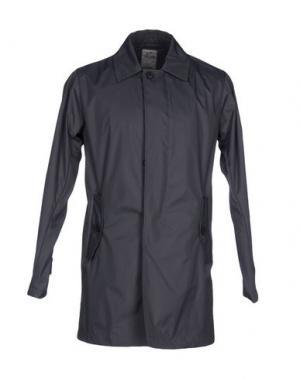 Легкое пальто YES ZEE by ESSENZA. Цвет: серый
