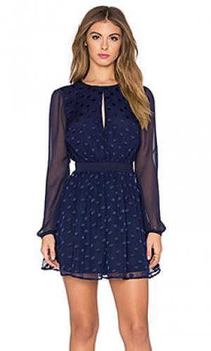 Платье albee Privacy Please. Цвет: синий