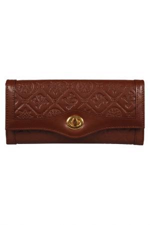 Wallet Silvio Tossi. Цвет: dark brown