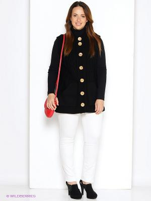 Жилет Milana Style. Цвет: черный