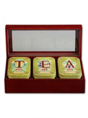 Чай Hilltop Шкатулка Т Е А 50 гр+50 гр. Цвет: зеленый, черный