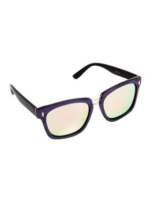 Солнцезащитные очки Kameo-bis. Цвет: золотистый, черный, фиолетовый