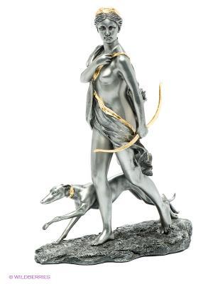 Статуэтка Артемида - Богиня охоты Veronese. Цвет: темно-серый, золотистый