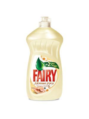 Средство для мытья посуды, Нежные руки, Ромашка и витамин Е 500мл Fairy. Цвет: бежевый